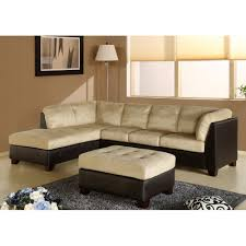 Colored Sectional Sofas by 12 Ideas Of Abbyson Living Charlotte Dark Brown Sectional Sofa And