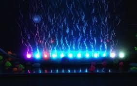 Aquarium Led Light Bar 2017 45cm Aquarium Fish Tank Led Light Air Stone Bubble