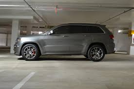 gray jeep grand cherokee with black rims mineral grey jeep grand cherokee srt8 zoom pinterest