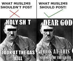 Anti Islam Meme - anti semitism is not the answer reaching out to the left