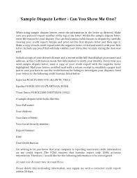 credit dispute letter template template idea