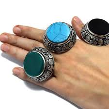 stone rings pictures images Shop carved stone rings on wanelo jpg