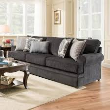 Simmons Upholstery Furniture Simmons Upholstery 8530 Br Transitional Sofa With Rolled Arms