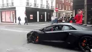 lamborghini reventon crash lamborghini aventador car crash in london aventador crash