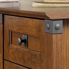 Corner Desk Cherry Wood by Carson Forge Corner Computer Desk 416969 Sauder