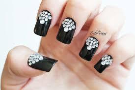 imagenes uñas para decorar ideas para decorar las uñas de negro mis uñas decoradas