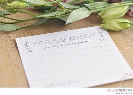 advice to the and groom cards your free wedding advice cards printable lovilee