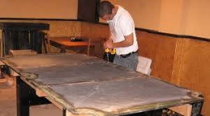 how to disassemble a pool table table moving