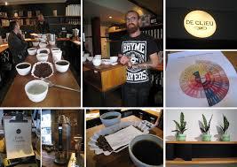 scrambled threads chris u0027 special edition coffee cupping at de clieu