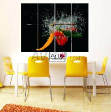 tableau design pour cuisine tableau de cuisine moderne tableau deco cuisine ooivrons dcoration