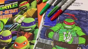 let u0027s color ninja turtle raphael sharpie markers tmnt coloring