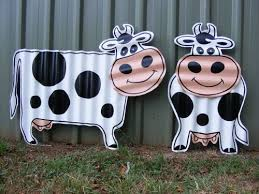 36 best all things cow images on cow metal sculptures