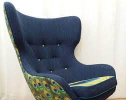 Reupholster Egg Chair Greaves Etsy