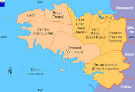 province france clickable map of brittany france historical regions