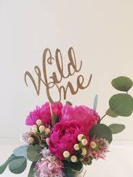 gold glitter wild one cake topper bohemian centerpiece 1st