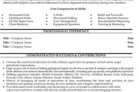 Horizontal Resume Oil And Gas Resume Examples Resume Example And Free Resume Maker