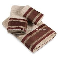 Decorative Bathroom Towels Fiesta Copper Towels By Avanti 100 Cotton Fiesta Mocha Towels By
