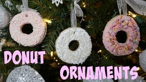 easy donut ornaments vlogmas 3