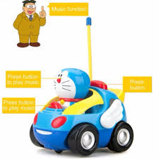 light up remote control car doraemon remote control car electronic music with light up cute fun