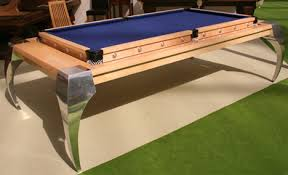 Pool Table Top For Dining Table Flip For 4 Clever Pool Tables That Convert Transform Urbanist