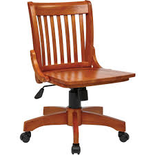 Office Star Leather Chair Office Star Products Deluxe Wood Banker U0027s Chair Multiple Colors