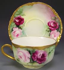 roses teacups exceptionally beautiful roses tea cup saucer set four