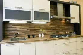 modern white kitchen backsplash kitchen idea of the day modern white kitchen with horizontal tile