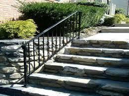 aluminum stair railing exterior installing aluminum stair