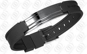 steel stainless magnetic bracelet stainless images 316 stainless steel magnetic bracelet mens jewellery in gunmetal look jpg