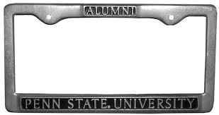 penn state alumni license plate penn state alumni car frame souvenirs car accessories