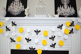 bumble bee decorations bumble bee garland to bee bumble bee baby