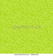 vector seamless simple pattern ornamental eggs stock vector