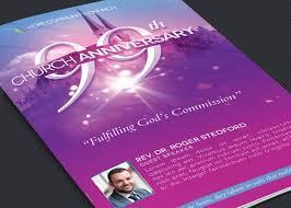 Church Programs Templates Church Celebration Program Template On Behance