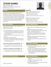 chief accountant chief accounting officer resume contents layouts u0026 templates