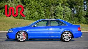 audi s4 2001 modified 2001 audi s4 wr tv review