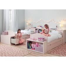 chambre 2 lits chambre 2 enfants avec lits et rangements haut de gamme asoral