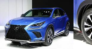 autos lexus nx facelift teased ahead shanghai debut cheers