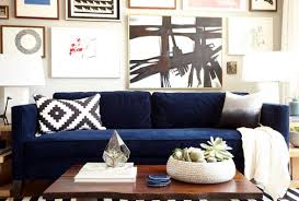 Blue Chairs For Living Room Sofa Outstanding Navy Blue Sofa Set 2017 Collection Blue Navy