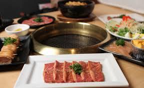 japanese restaurant cook at table gyu kaku japanese bbq