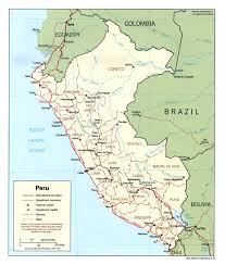 Amazon Maps Peru Maps Perry Castañeda Map Collection Ut Library Online
