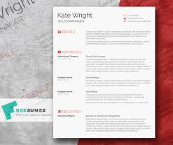 free minimalist resume designs 40 free printable cv templates in 2017 to get a perfect job