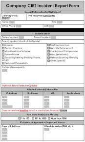 mapt developer skills deliveredincident report example blank