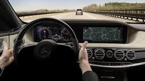 dashboard images of 2018 mercedes benz s class facelift get released