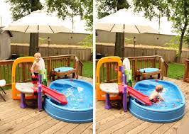 backyard water park design home outdoor decoration
