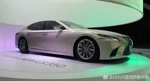 lexus price in sri lanka lexus ls 350 diperkenal di china dengan 3 5 litre v6