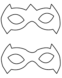 photos superhero mask pattern robin superhero mask