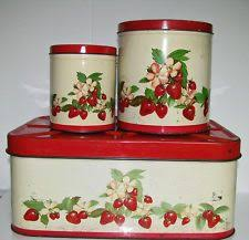 1950s bread boxes canisters and tins find vintage collectibles