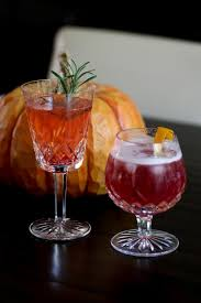 his hers thanksgiving day cocktails foodie