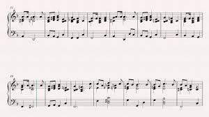 piano o christmas tree christmas carol sheet music chords