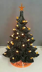 halloween tree ceramic tree black ceramic tree 17 inch